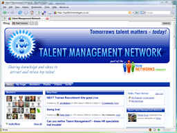 Talent Management Network screenshot