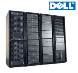 DELL servers in standard rack mount configuration